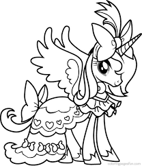 Pony Coloring Pages Free 01
