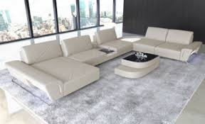 contemporary leather sectionals modern leather sofas