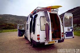 Man Quits Job To Convert Old Van Into A Cozy Solar Powered Mobile