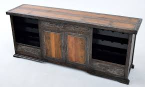 Reclaimed Painted Sideboard With Wine Racks