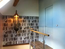 un palier d escalier décoration palier et montée d escalier éclectique escalier