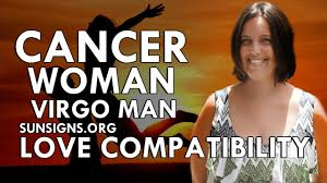 cancer woman virgo man a happy harmonious relationship youtube