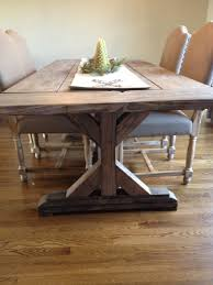 Buy A Hand Crafted Fancy X Farmhouse Table With Extensions Extending Dining Made To Order From The Urban Reclaimed Co