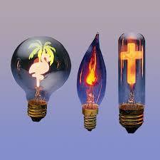flicker bulbs flower light bulbs neon symbolite tulbs