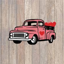 100 Vintage Truck Magazine Valentine SVG Farmhouse SVG SVG