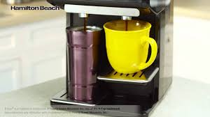 Hamilton Beach Dual FlexBrewR Single Serve Coffee Maker 49998