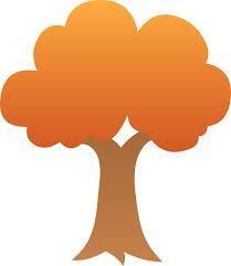 Cute Autumn Tree Design Free Clip Art