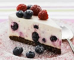 Chocolate Blueberry Cheesecake