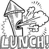 Lunch Break Clip Art Royalty Free Gograph With Time At Work Clipart
