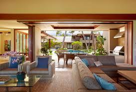 Kaapuni Beach Estate Tropical Living Room