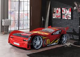 Flash Racing Car Bed White Car Bed Shop