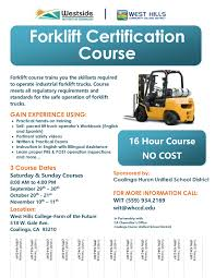 FREE Forklift Certification Course   West Hills Colleges Vehicle Graphics For The Mercedesbenz Truck Traing Fleet Photos Movational Speaker Anthony Trucks Ontario Driving Schools React To Entry Level Changes Transportation Cotton Pants Boys Cars Trains Sa Aim Produce Trained Trusted And Sted Drivers Defensive Drivers Hyclasse Group Of Companies Wallace States Cdl Traing In Winston County Produces First Group Dumps Potty Super Undies Original Articulated Dump Adt Simulator 5dt Reduces Accidents Cat Simulators Machine Operator Total