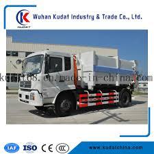 China Hook Arm Garbage Truck With 15cbm Loading Capacity - China ...