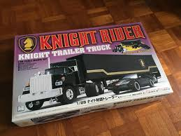 KNIGHT TRAILER TRUCK From KITT Knight Rider 1:28 Model Kit Aoshima ...