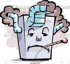 Cartoon Furnace Vector Clip Art How To Draw Rh Com Air Conditioner