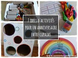 un anniversaire tout en couleur pour ses 6 ans activité