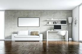 betonwand wohnzimmer ideen