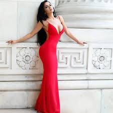 25 red tight prom dress ideas homecoming