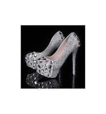 luxury wedding shoes bling bridal shoes rhinestone prom shoes