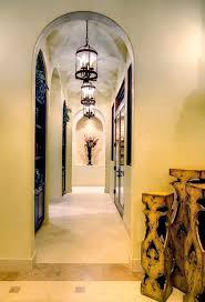niche ideas mediterranean with pendant lights glass doors