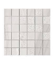 white 2x2 porcelain mosaic tile for bathroom