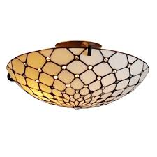 Home Depot Ceiling Lamps by Amora Lighting Tiffany Style 2 Light Jeweled Pendant Ceiling