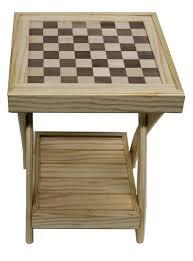 Folding Side Table Open