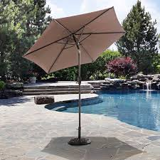 Patio Umbrellas Walmart Canada by Sunjoy Sunbrella Fabric Umbrella Walmart Canada