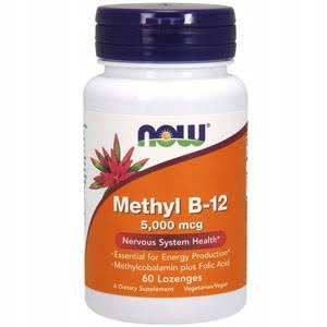 Now Foods Methyl B-12 Vitamins - 60 Lozenges