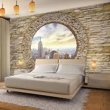 steinwand new york vlies foto wandtapete dekoration runa 9109ap