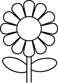 Free Toddler Coloring Pages Flower 1376