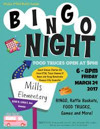 100 Food Trucks Tulsa Mills Elementary Bingo Fundraiser And Truck Friday Event March