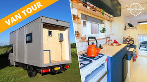 100 Vans Homes Van Tour Beautiful Box Van Luton Conversion YouTube