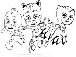 Kinderen Pocoyo Kleurplaten Super Dibujos Para Colorear Pj Masks