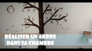 pochoir mural chambre comment peindre un arbre dans une chambre d enfant cerisier con
