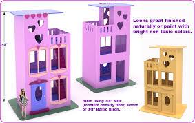 barbie dollhouse furniture plans free