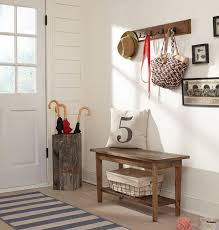 Laurel Foundry Modern Farmhouse Wall Mounted Coat Rack With Bench