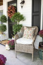 Better Homes And Gardens Patio Furniture Covers by Plum And Red Mums Fall Porch Home Stories A To Z