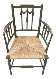 1920s Vintage Painted Adams Style Rush Seat Arm Chair | Chairish Lot 14 Vintage Wood Rocking Chair 36t X 225w 33d 119 Antique 195w 325d Auction Pair Of Adams Style Painted Regency Neoclassical 19th Queen Anne Old Carved Ornate Side Chairs A And Windsor 170 For Sale At 1stdibs Sunnydaze Decor White Allweather Traditional Plastic Patio Press Back Update With Java Gel Stain Your Funky Amazoncom Best Choice Products Indoor Outdoor Wooden Damaged Finish Gets New Look Peg Rocking Chairkept Me Quiet Many School Holiday Northwest Estate Sales Auctions 182 Adorable