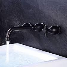 waschtischarmatur wasserhahn mit wasserhahn retro schwarz