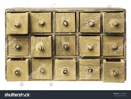 Wood Apothecary Cabinet Plans by Primitive Wooden Apothecary Catalog Cabinet Partially Stock Photo