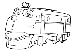 Chuggington Coloring Pages Wilson For Kids Printable Free