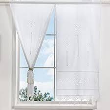 dokot leinen baumwolle stickerei küche vorhang cafe vorhang