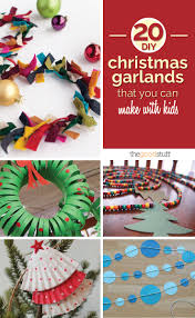 Christmas Tree Bead Garland Ideas by 20 Diy Christmas Garlands That You Can Make With Kids Thegoodstuff
