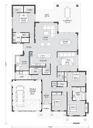 Get A Home Plan Floor Plan Friday 4 Bedroom Study Media And Storage