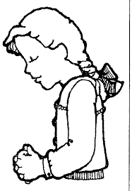 Lds Children Praying Clipart