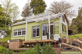 House Building by Tiny House Pictures In Our Tiny Trailer House One Year On