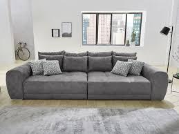 big sofa mit federkern grau 306 cm moldau