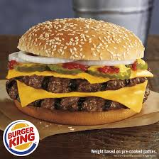 Sound familiar Burger King launches quarter pound burger