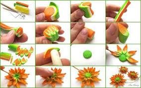 fleur en fimo 30 tutos pour apprendre à faire des fleurs en pâte